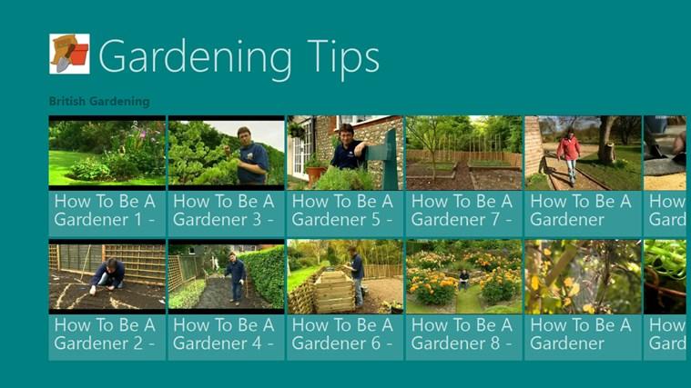 Gardening Tips screen shot 1
