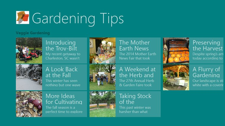 Gardening Tips screen shot 3