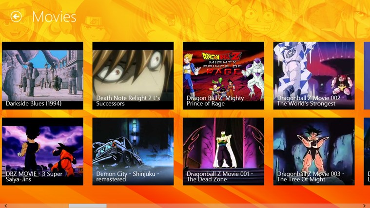 PlayAnime screen shot 3
