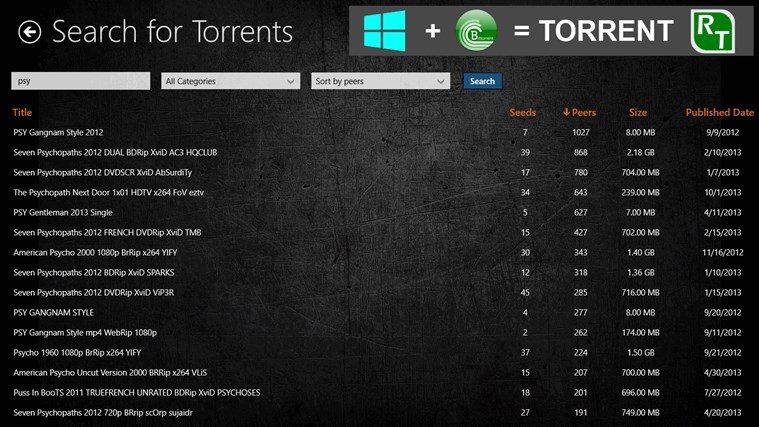 Torrent RT FREE screen shot 5