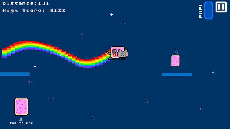 Nyan Cat The Game screen shot 3
