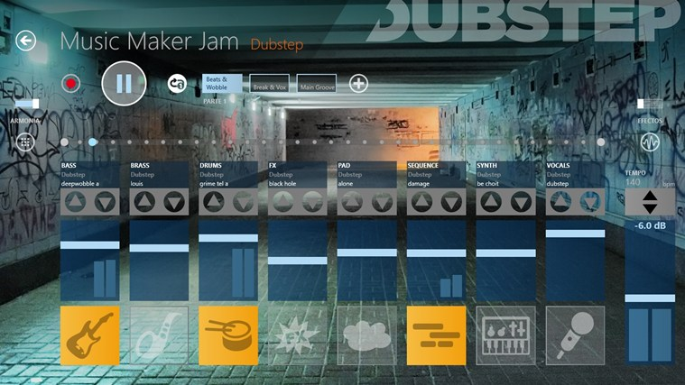 Music Maker Jam captura de pantalla 1
