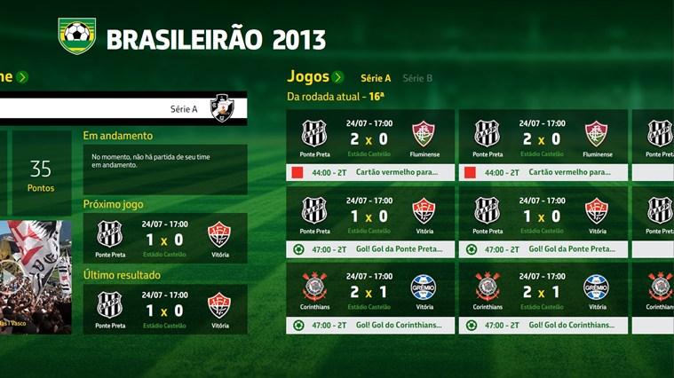 Campeonato Brasileiro 2013 captura de tela 1