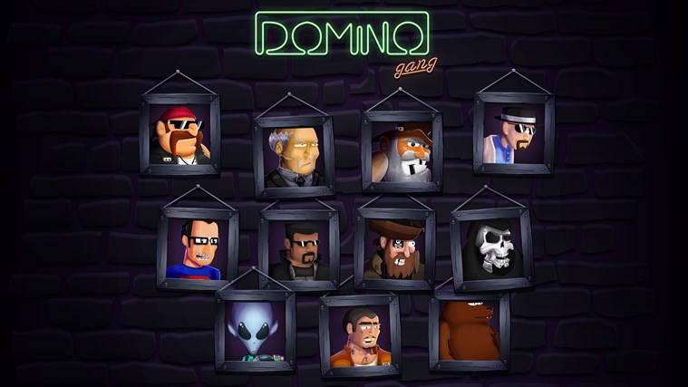 Domino Gang screen shot 1