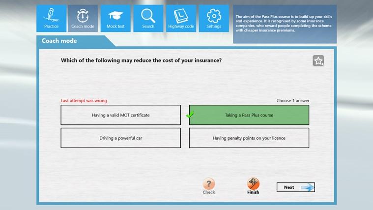 PCV Theory Test cattura di schermata 3