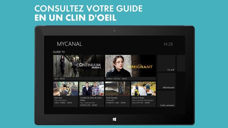 myCANAL capture d'écran 5