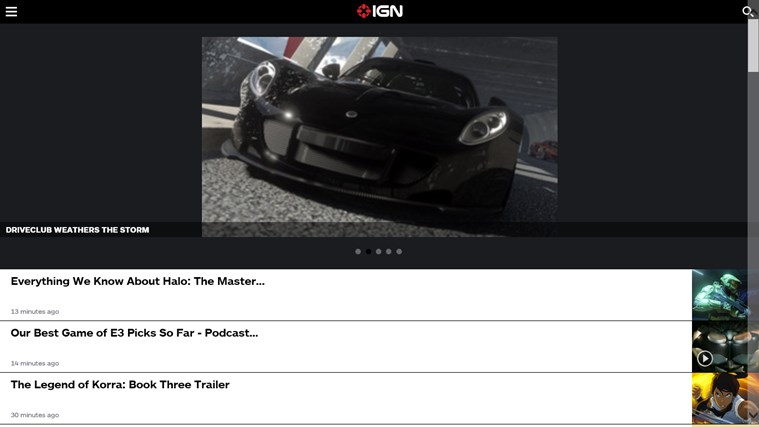 IGN Mobile screen shot 1