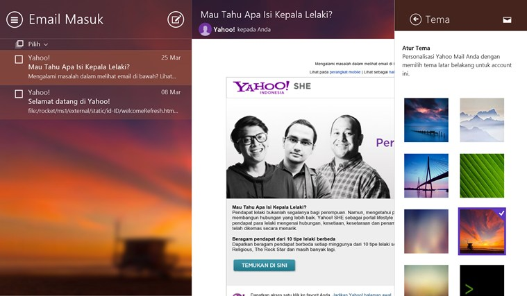 Yahoo! Mail screenshot 1