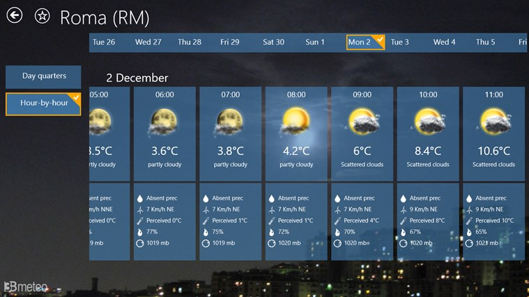 3BMeteo screen shot 3