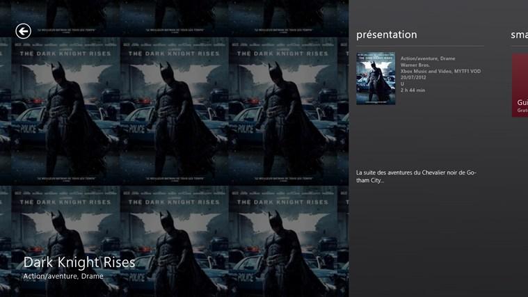 Xbox 360 SmartGlass capture d'écran 1