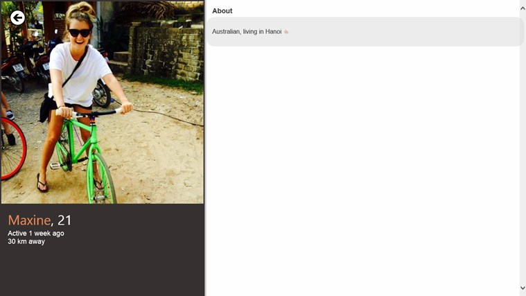 TinderWindows screen shot 5