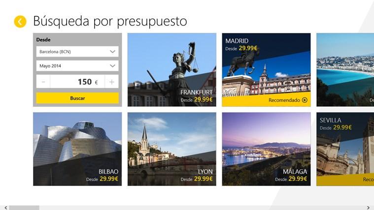 Vueling Airlines captura de pantalla 1