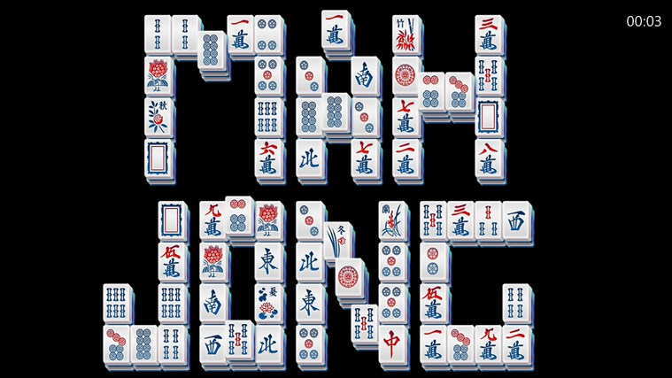 Mahjong Deluxe Free screen shot 1
