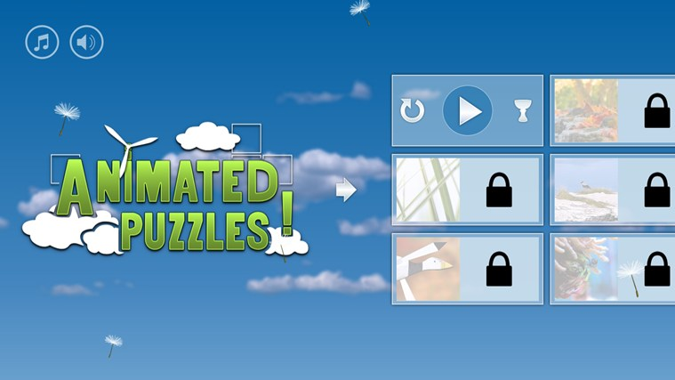 Animated Puzzles screen shot 7