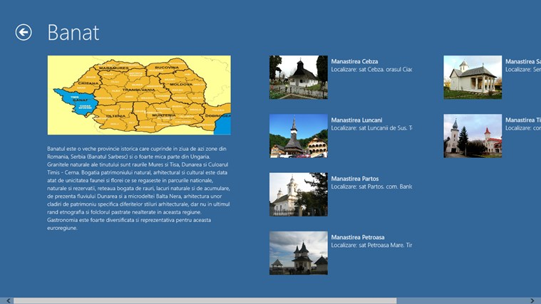 Manastiri din Romania screen shot 3