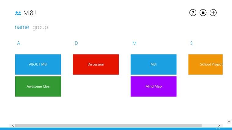 M8! - Mind Map snímek obrazovky 1