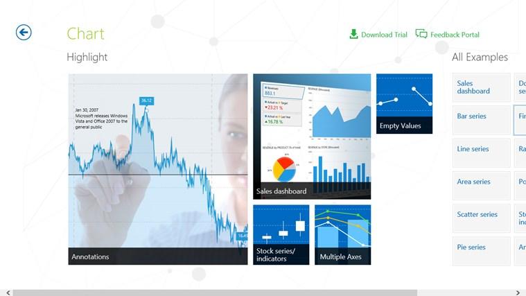 Telerik Controls Examples (XAML) screen shot 7