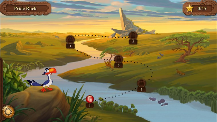 Disney Solitaire screen shot 1