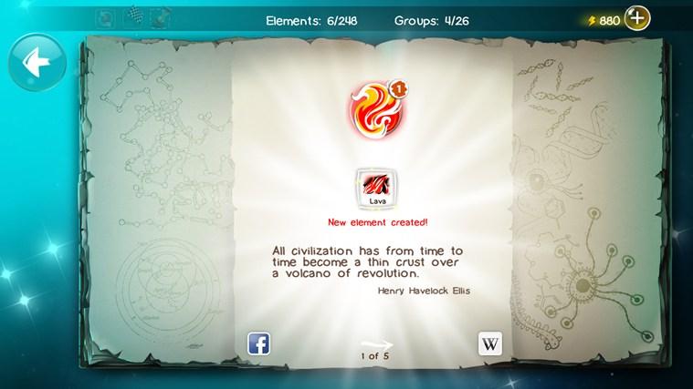 Doodle God for Samsung petikan skrin 3