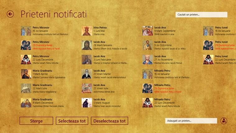 Calendar Crestin Ortodox 2014 capture d'écran 1