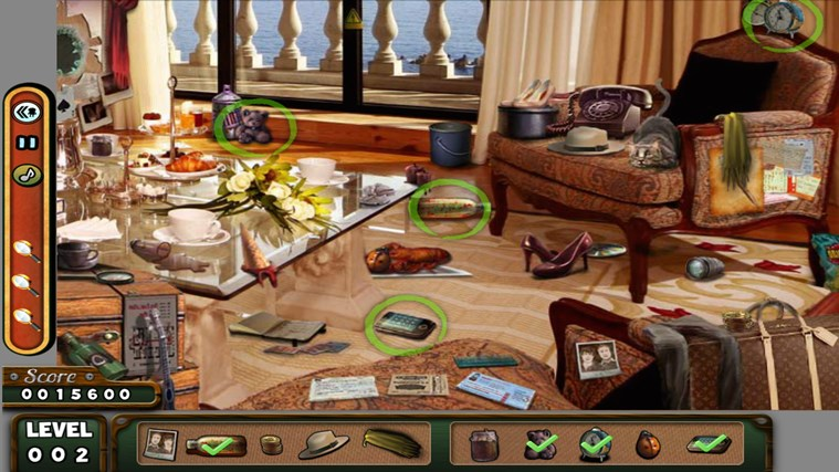 Hidden Objects- Travel- Farm- Detective 3 in 1 Pack screen shot 1