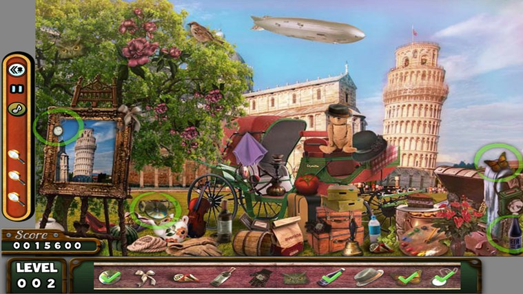 Hidden Objects- Travel- Farm- Detective 3 in 1 Pack screen shot 3