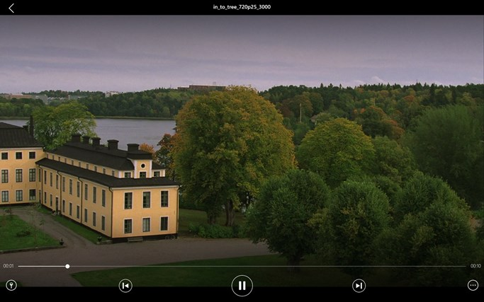 VLC for Windows 8 screen shot 5