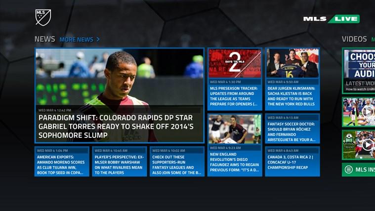 MLS MatchDay screen shot 1