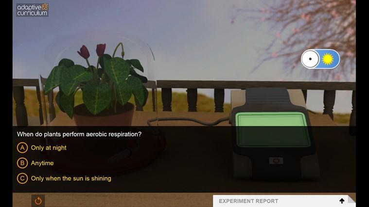 AC Life Science: Aerobic Respiration in Plants snímek obrazovky 1