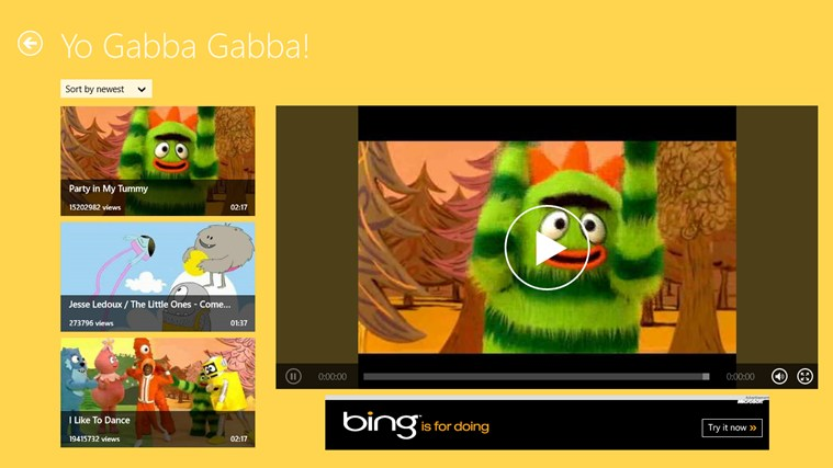 Kids Videos HD screen shot 1