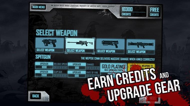 Judge Dredd vs. Zombies screen shot 1