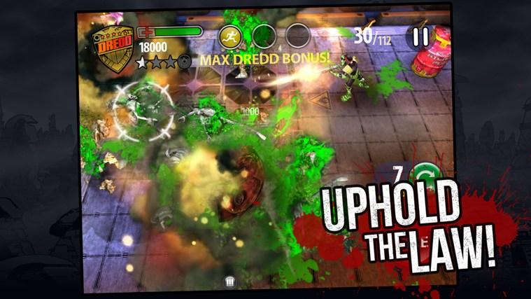 Judge Dredd vs. Zombies screen shot 3