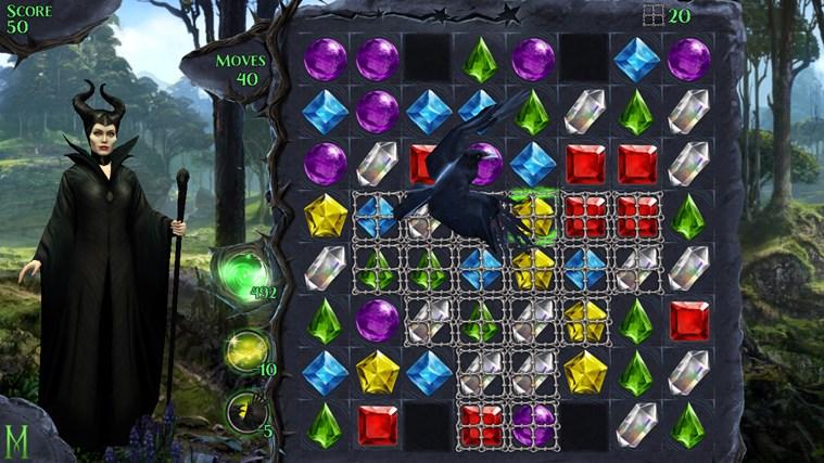 Maleficent Free Fall screen shot 3
