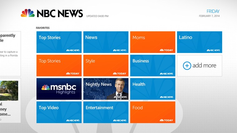NBC News screen shot 1