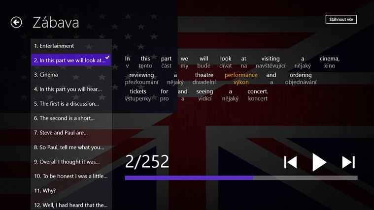 Angličtina Premium snímek obrazovky 3