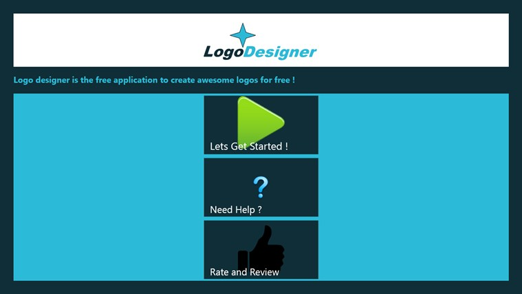 Logo Designer screen shot 1