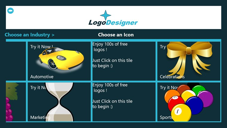 Logo Designer screen shot 3