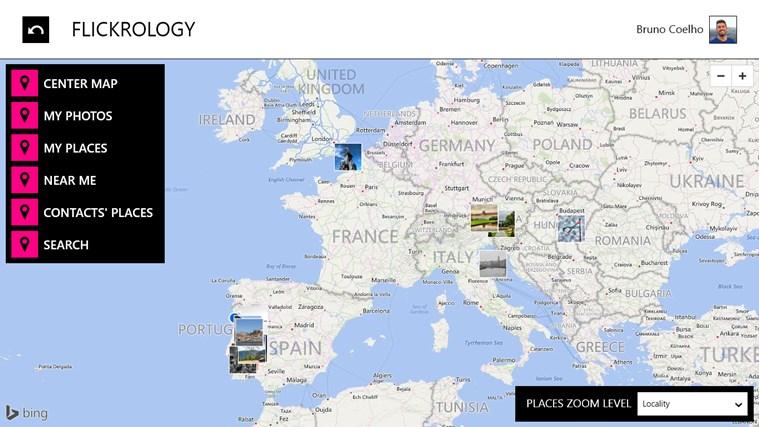 Flickrology screen shot 1