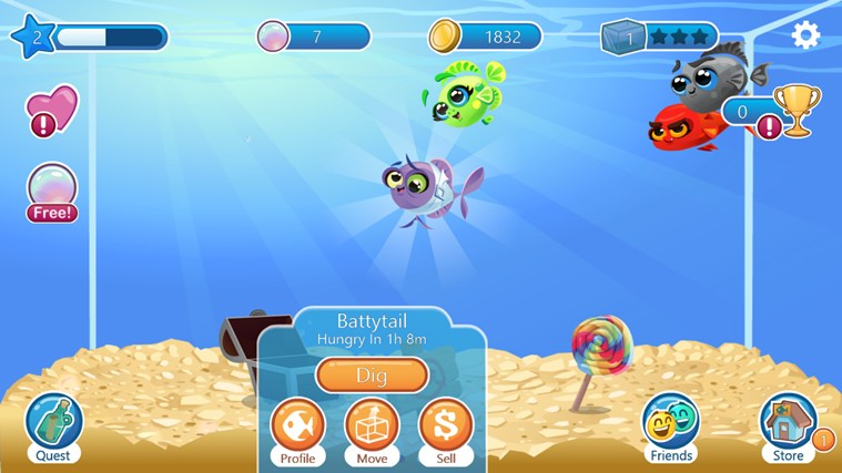 Fish with Attitude screen shot 1
