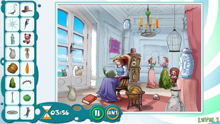 Beauty and the Beast - Hidden Object Game screen shot 3