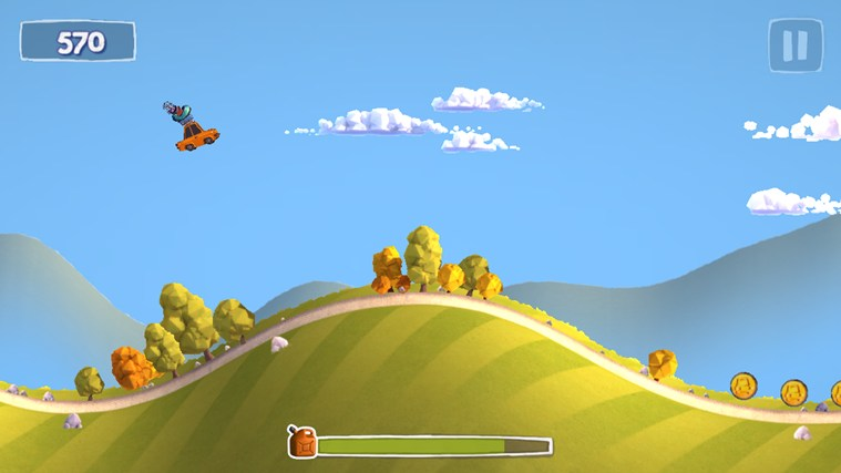Sunny Hillride screen shot 1