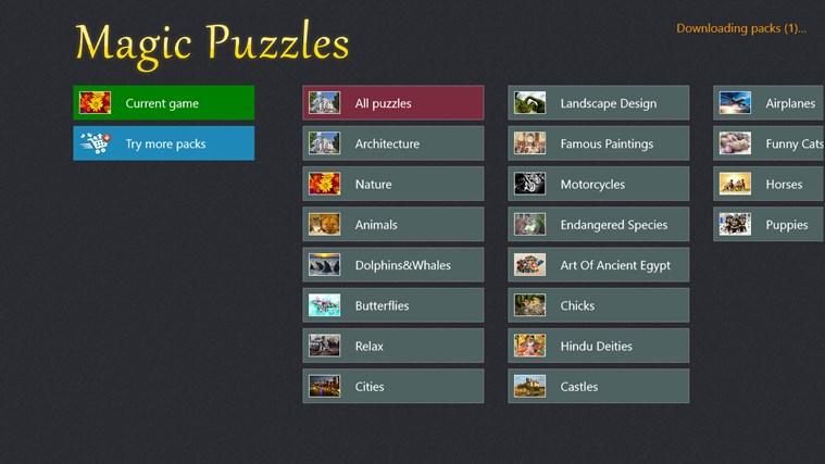 Magic Jigsaw Puzzles screen shot 5