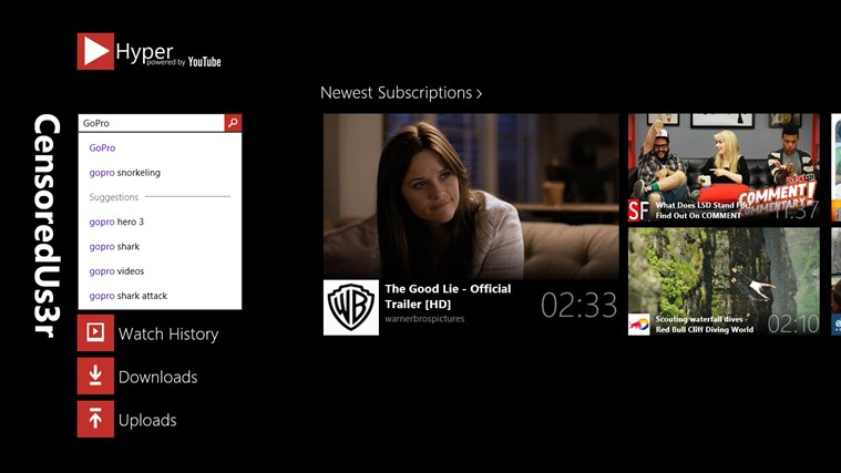 Hyper for YouTube screen shot 1