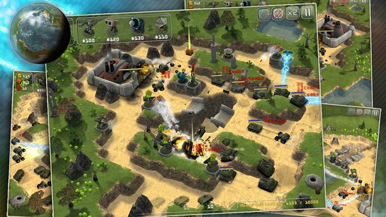 Total Defense 3D screen shot 1