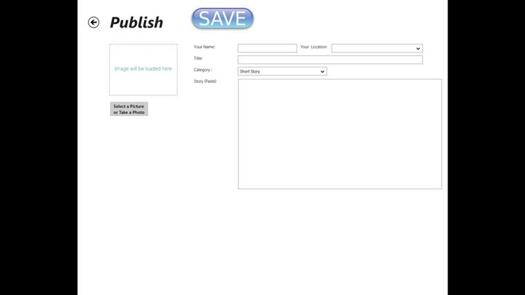 Creative Writer screen shot 3