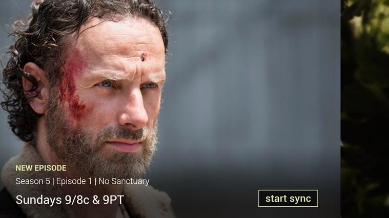 AMC Story Sync screen shot 1