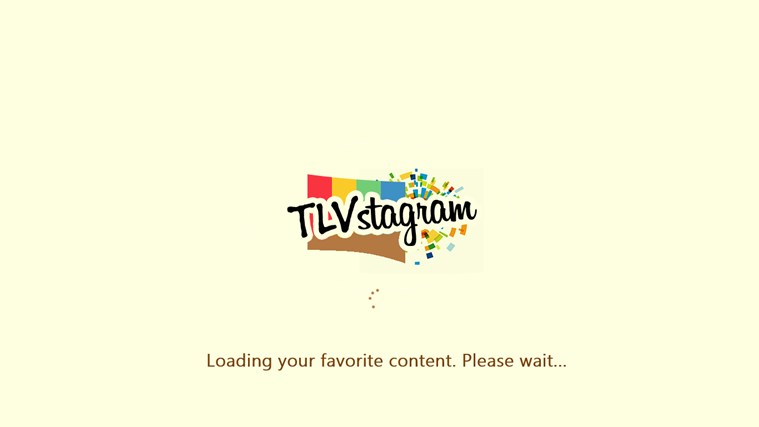 TLVstagram screen shot 1