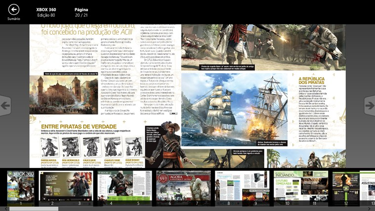 Revista Oficial do Xbox captura de tela 3