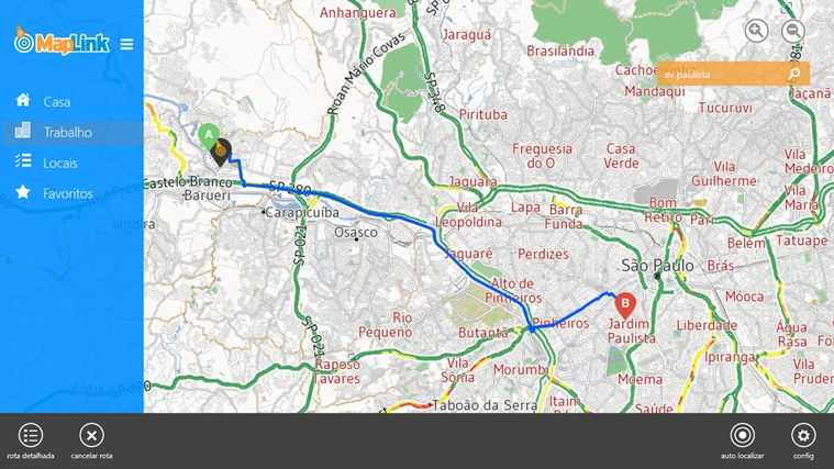 Maplink Transito Agora screen shot 1