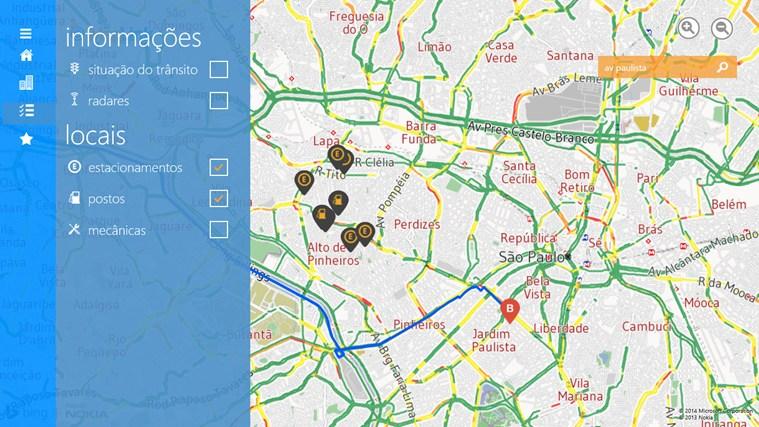 Maplink Transito Agora screen shot 3